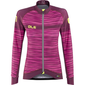 Alé Cycling Graphics PRR The End Langærmet cykeltrøje Damer, amarone red